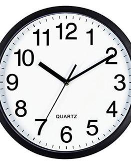 Classroom Wall Clock Silent Non Ticking