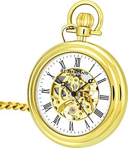 Vintage Mechanical Pocket Watch Stuhrling Original