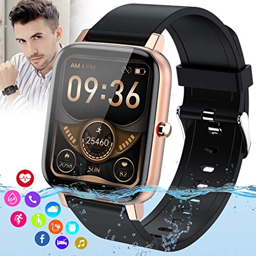 Fitness Watch with Blood Pressure Heart Rate Monitor Activity Tracker