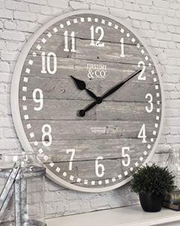 "FirsTime & Co. 20"" Arlo Gray Wall Clock, Light"