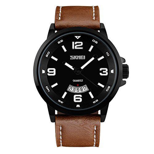 Unique Big Face Number Retro Casual Wrist Watch
