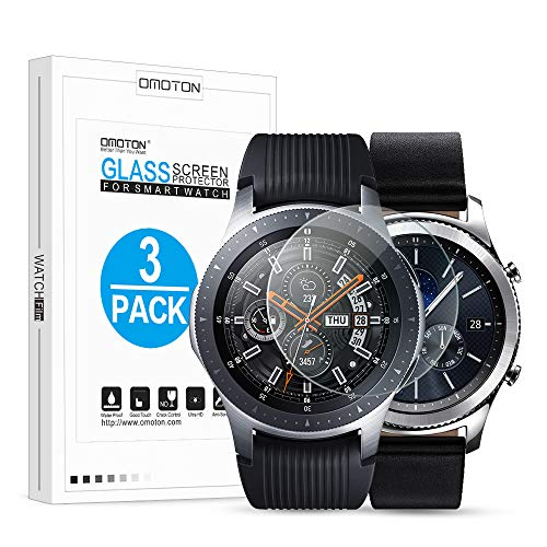 OMOTON Tempered Glass Screen Protector Compatible Samsung Gear