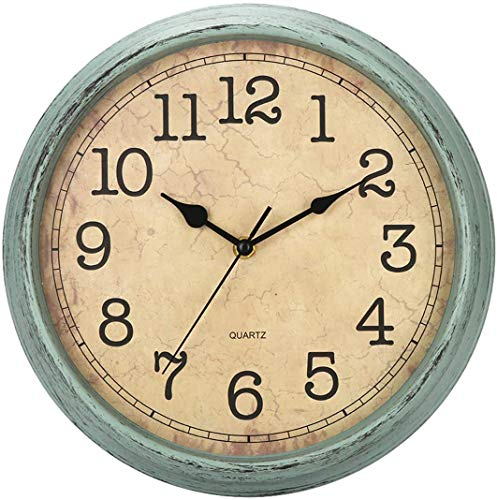 Vintage Retro Wall Clock Silent Non-Ticking
