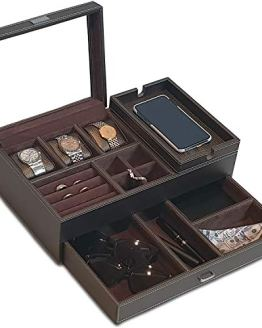 Watch Organizer with Charging Station