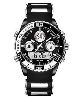YouwenMen Military Watch Electronic Military Luxury