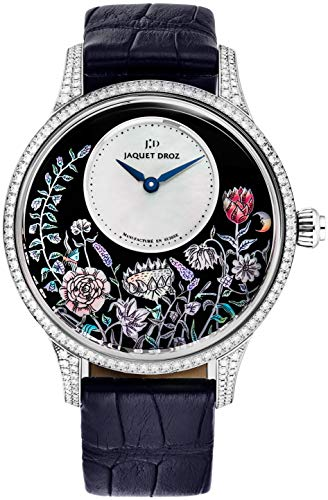 Pearl Dial with Blue Hands Petite Heure Automatic Watch