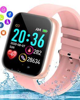 Waterproof Fitness Watch with Blood Pressure Heart Rate Sleep Monitor Smart Watch