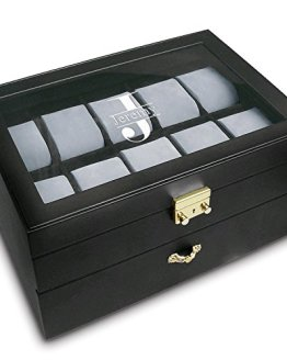 Custom Engraved Watch Box For 20 Large Watches