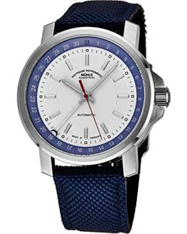 Muhle Glashutte Automatic Watch White Face