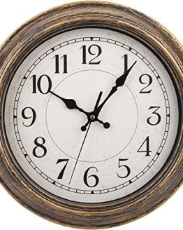 Retro Wall Clock Silent Non-Ticking