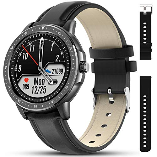 Fitness Tracker Watch with Heart Rate and Blood Pressure Monitor
