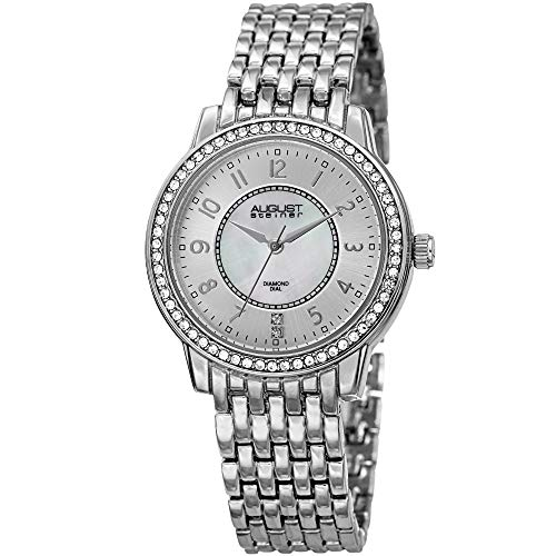 August Steiner Crystal Studded Women's Watch