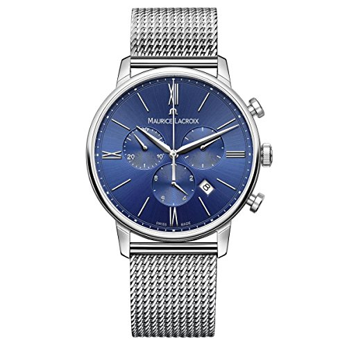 Maurice Lacroix Swiss-Quartz Watch with Stainless-Steel Strap