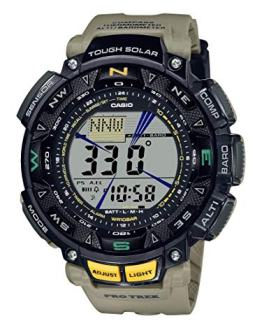 Casio Men's Quartz Sport Watch with Resin Strap, Khaki