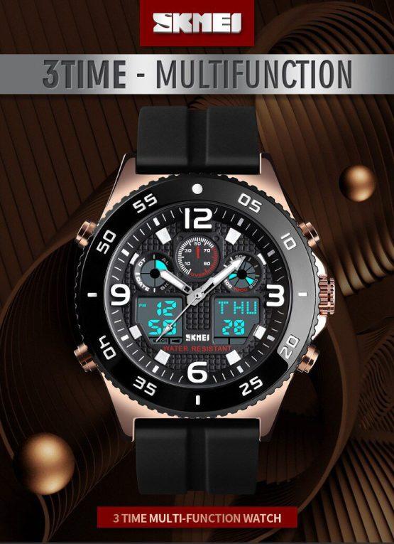 Waterproof Sport Watch Double Strap SKMEI