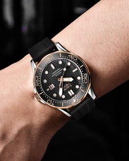 LIGE Top Brand Luxury Sports Men Quartz Wristwatch