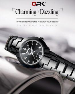 Luxury Brand Watch Simple Quartz Lady Waterproof Wristwatch