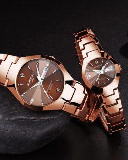 Lovers Wrist Watch Dual Calender