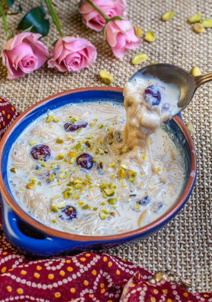 Shemai – Creamy Vermicelli in Sweet Rose Infused Cream