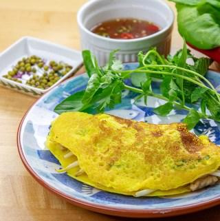 Banh Xeo - Crispy Vietnamese Crepes