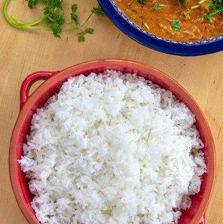 Reheat rice