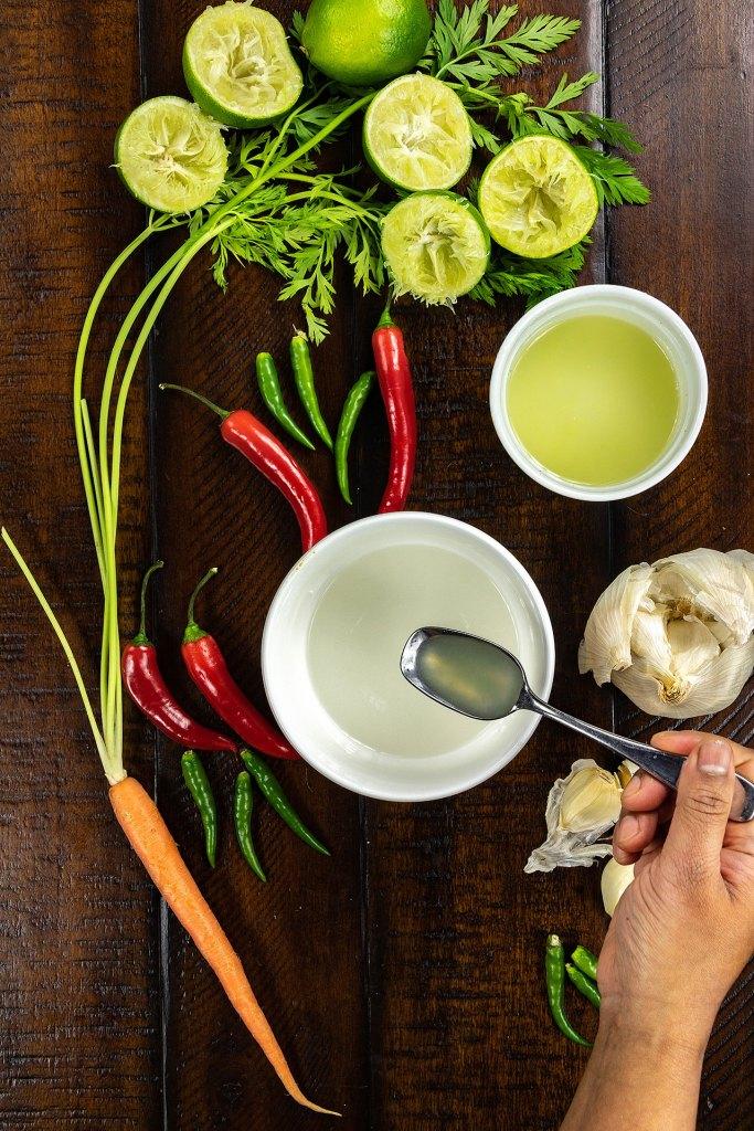Nuoc Cham Vietnamese Dipping Fish Sauce Method Step 2