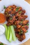 Crispy Keto Buffalo Chicken Wings