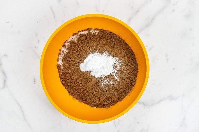 Chocolate Cake Dry Ingredients