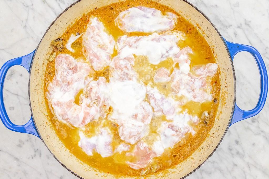 Cook Chicken Korma