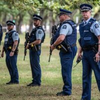 Paramilitary Police Training Drill Took Place On SAME DAY As Christchurch Mass Shootings...