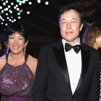 PHOTO: Elon Musk And Ghislaine Maxwell Seen Together At Hollywood Party