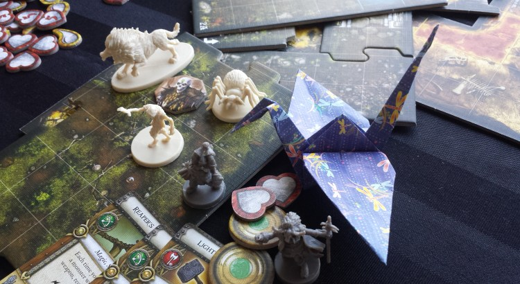Dungeons and Dragons boardgame