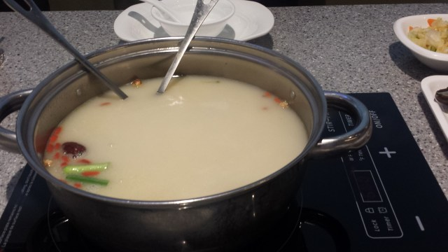 Mongolian Hotpot's secret special broth