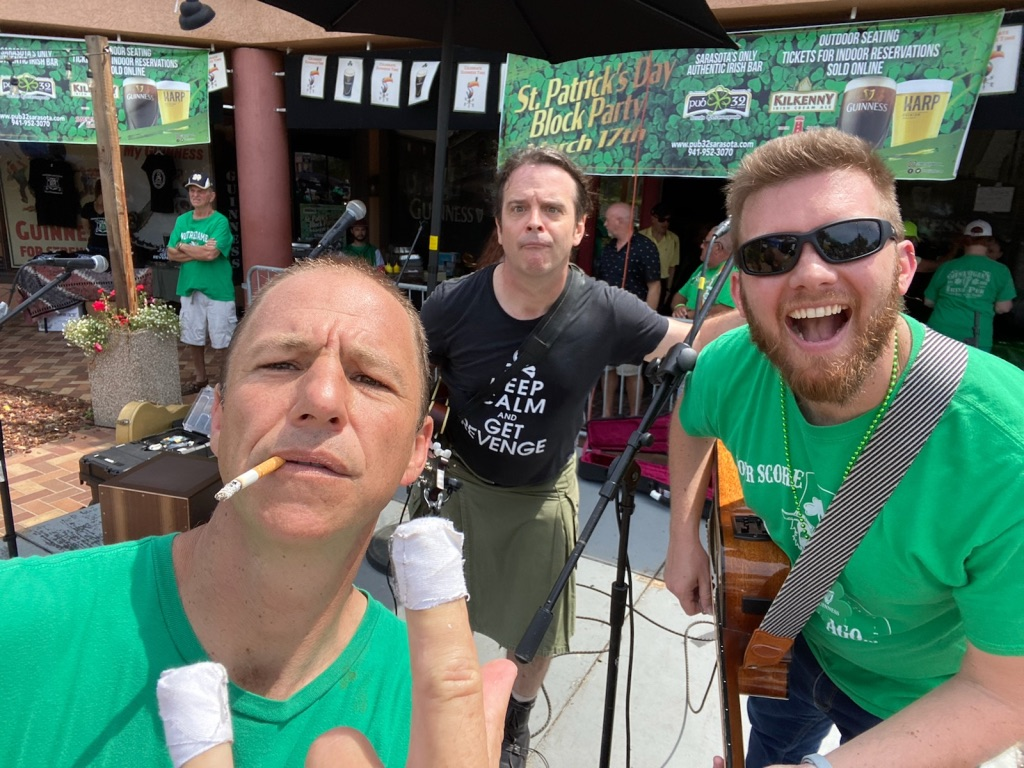 Clover's Revenge at Pub 32 on St. Patrick's Day