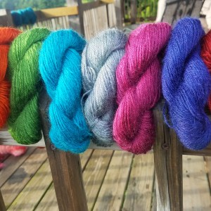 Northern Borders- Yarn from Border Leicester Wool