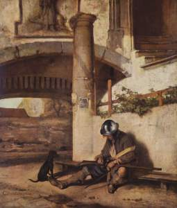 The Tower Guard, by Carel Fabritius
