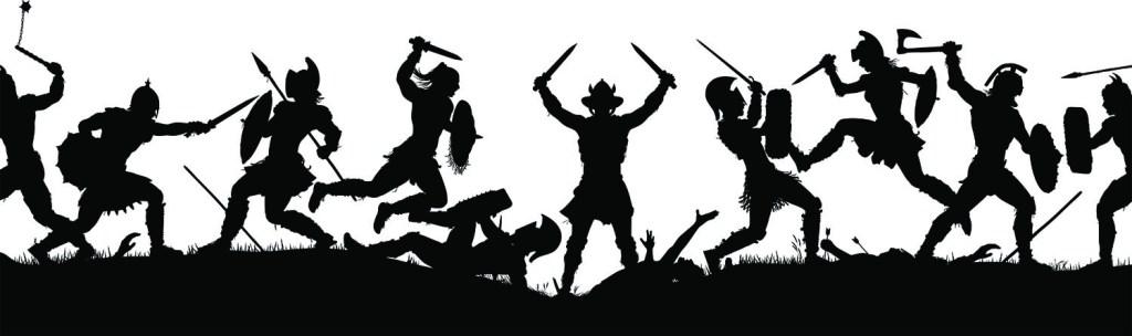Clovistia Cave Battle