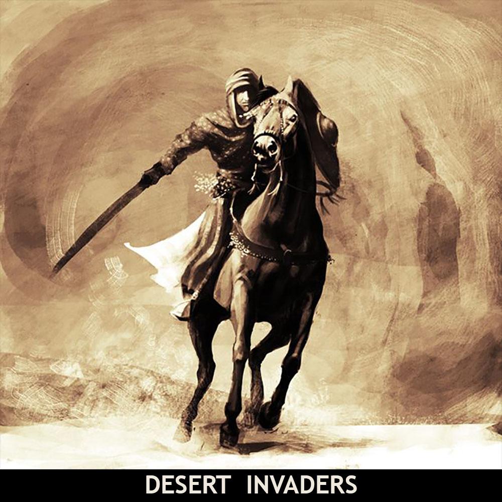 Clovistia Desert Invaders