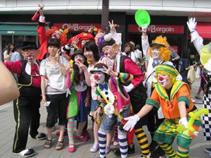 パレードの写真