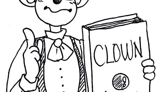 終了【WEB講座】クラウン教本レッスン「まじめにおもしろいことをやる」-RONEクラス(3/13)