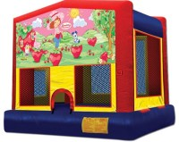 Strawberry Shortcake Inflatable Bounce House Rentals | Jumpers