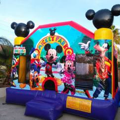 Mickey Mouse Chairs And Table Steel Chair Lowest Price Bounce House Rentals | Jumpers