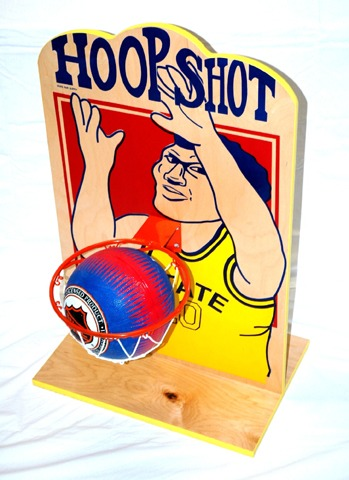 hoop shot basketball toss