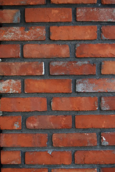 Red Brick with Dark Morter