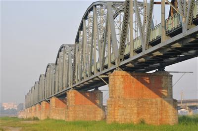 下淡水溪鐵橋 - 薯條之家
