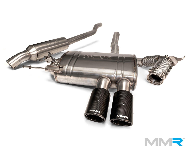 mmr performance exhaust system mini f56 cooper s