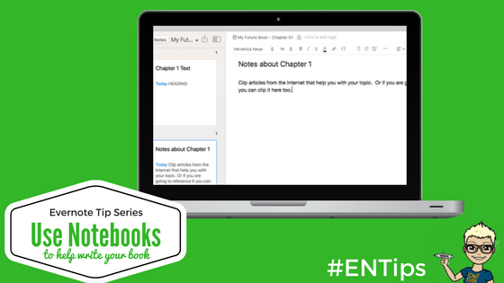 write book Evernote, Evernote,