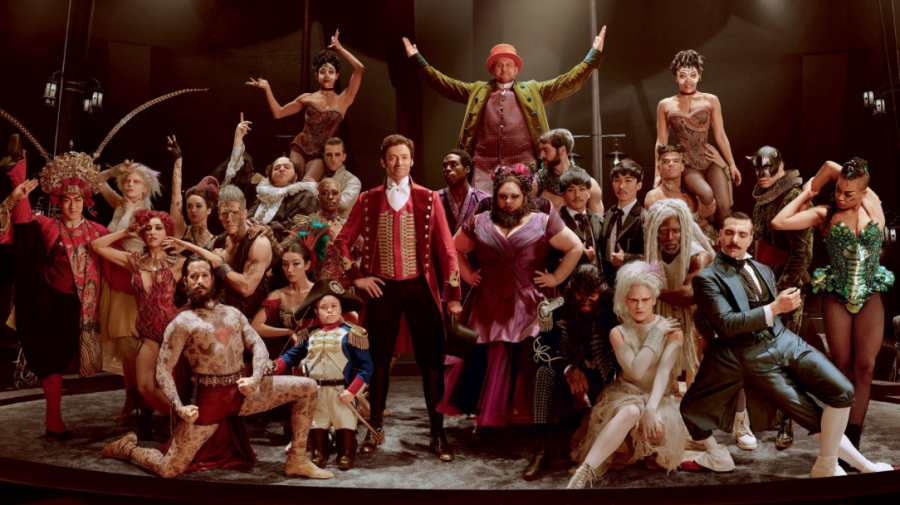 Image result for the greatest showman cast