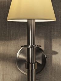 CL Sterling & Son   Round Wall Sconce