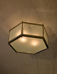 CL Sterling & Son | Hexagon Ceiling Fixture